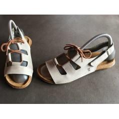 Sandales plates  El Naturalista  pas cher