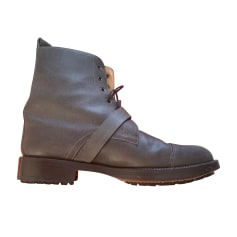 Bottines & low boots plates Hermès  pas cher