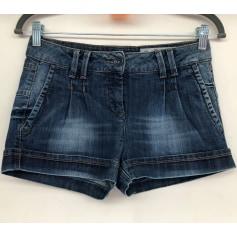 Short en jean Sisley  pas cher