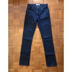 Jeans droit American Apparel  pas cher