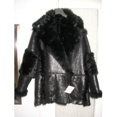 Manteau en fourrure Drome  pas cher