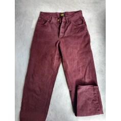 Jeans très evasé, pattes d'éléphant Lee  pas cher