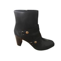 Bottines & low boots à talons Longchamp  pas cher