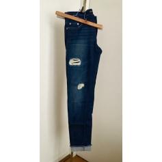 Jeans large, boyfriend Maje  pas cher