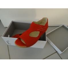 Sandales plates  Waldlaufer  pas cher