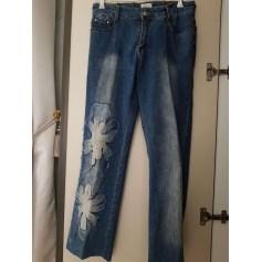 Jeans droit BNK  pas cher