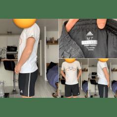 Short Adidas  pas cher