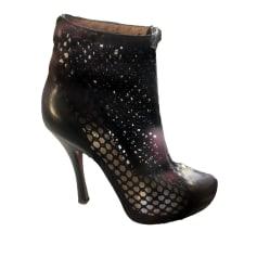 Bottines & low boots à talons Pollini  pas cher