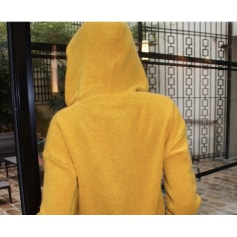 Sweat Maille Sweat Jaune by LIJIE  pas cher