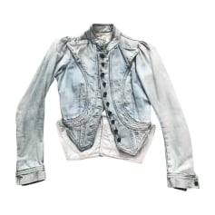 Veste en jean Givenchy Obsedia pas cher