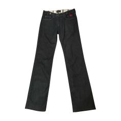 Jeans droit Giorgio Armani  pas cher