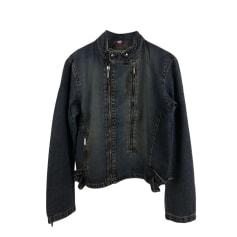 Denim Zipped Jacket Dirk Bikkembergs