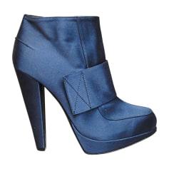 Bottines & low boots à talons Lanvin  pas cher