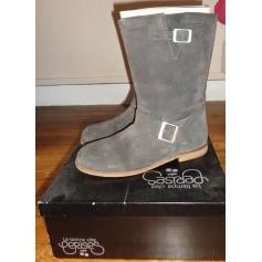 Bottines & low boots plates Le Temps des Cerises  pas cher