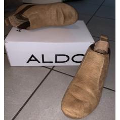 Bottines & low boots plates Aldo  pas cher