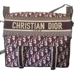 Sac en bandoulière en tissu Dior  pas cher