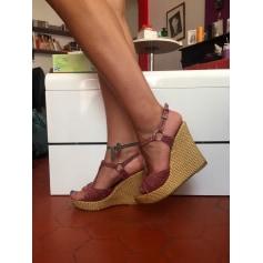 Sandales compensées Bamboo  pas cher