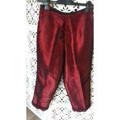 Pantalon carotte sans marque  pas cher