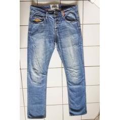 Jeans slim Superdry  pas cher