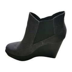Bottines & low boots à compensés Calvin Klein  pas cher