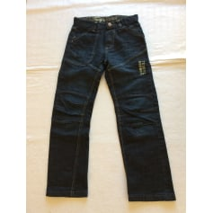 Jeans large Teddy Brown  pas cher