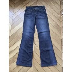 Jeans très evasé, patte d'éléphant Joe's Jeans  pas cher