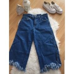 Jeans large, boyfriend Zara  pas cher