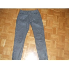 Pantalon slim, cigarette Denim Studio  pas cher
