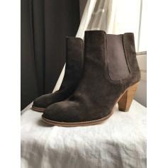 Bottines & low boots à talons Monoprix  pas cher