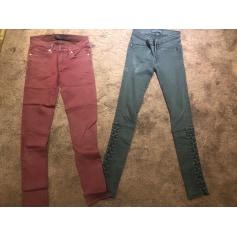 Pantalon slim, cigarette Juicy Couture  pas cher