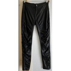 Pantalon slim, cigarette La Halle Aux Vêtements  pas cher