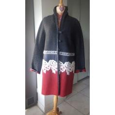 Manteau Bleu Blanc Rouge  pas cher