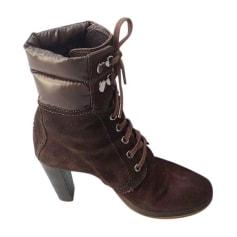 Bottines & low boots à talons Moncler  pas cher