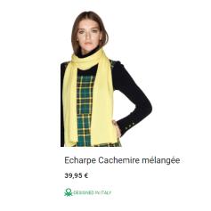 Echarpe United Colors of Benetton  pas cher