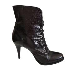 Bottines & low boots à talons Gaia d'este  pas cher