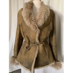 Manteau en cuir Peau d'Ane  pas cher