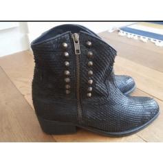 Santiags, bottines, low boots cowboy Minelli  pas cher