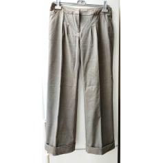 Pantalon droit Emma Pernelle  pas cher