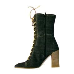 Bottines & low boots à talons Miu Miu  pas cher