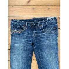 Jeans droit Diesel  pas cher