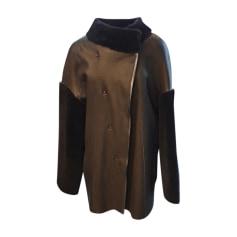 Manteau en cuir Giorgio & Mario  pas cher