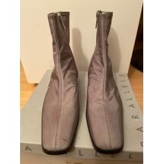 Bottines & low boots plates Parallèle  pas cher