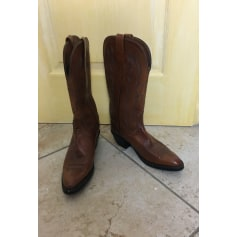 Santiags, bottes cowboy Lucchese 2000  pas cher