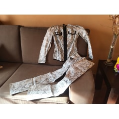 Pantalon droit Oppio Fashion  pas cher