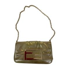 Handtasche Stoff Fendi Baguette