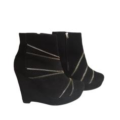 Bottines & low boots à compensés The Kooples  pas cher