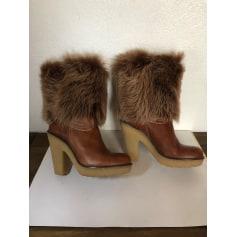 Bottines & low boots à talons Gallerie Lafayette  pas cher