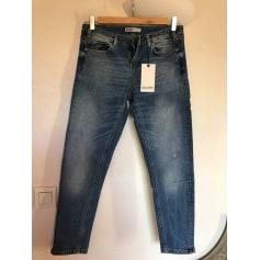 Jeans large, boyfriend Zara bazic  pas cher