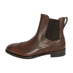 Bottines Salvatore Ferragamo  pas cher