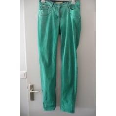 Pantalon droit Biba  pas cher